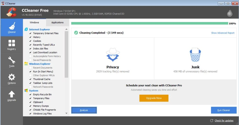 ccleaner professional free download with crack