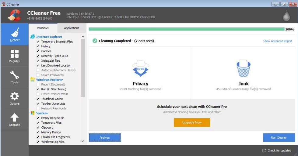 CCleaner Pro 5 60 7307 Crack & Professional Keygen 100% Working {2019}