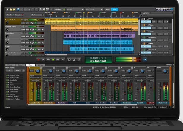 Mixcraft 8 Registration code + Serial keys {Free Updated}
