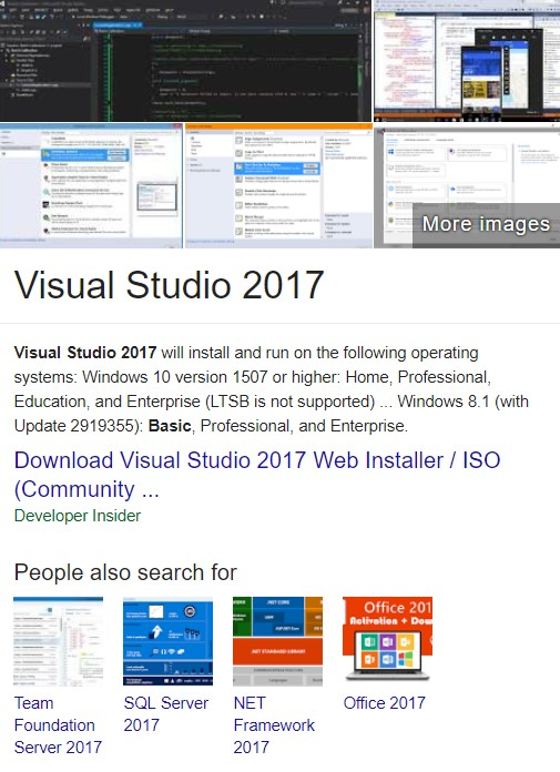 Visual Studio 2017 Free Download Full Version With Crack {Product
