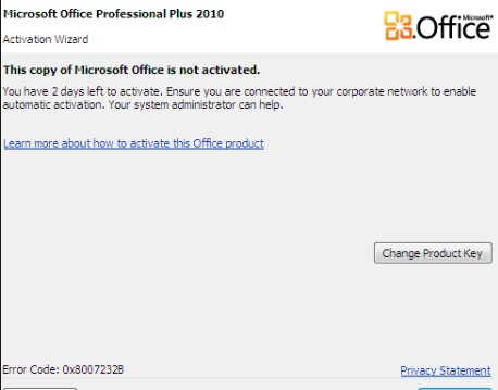 crack microsoft office 2010 activation key