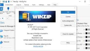 register code for winzip download