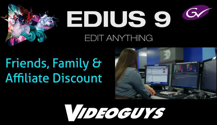 edius 9 Crack Free Download Full Version For Lifetime Win 7, 8.1 & 10