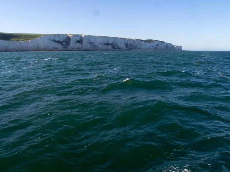 Ramsgate Dover: die Kreidefelsen von Dover