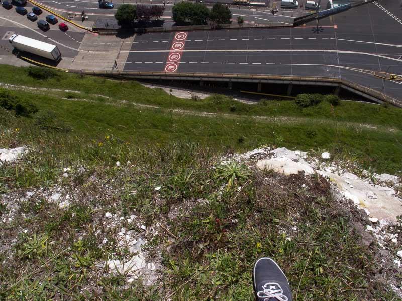 Klippen von Dover: Am Abgrund