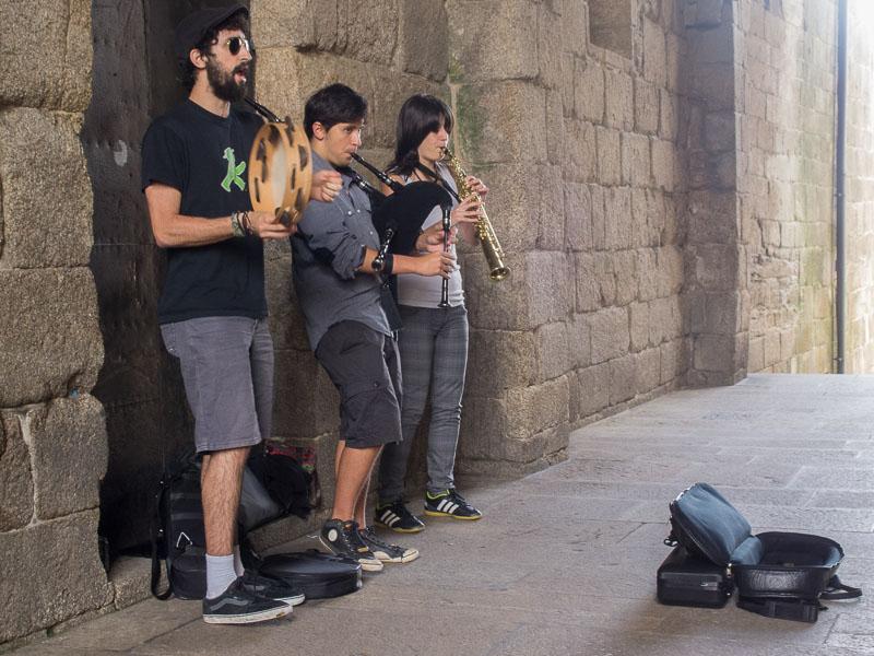 Santiago di Compostella: keltische Klänge in Spanien