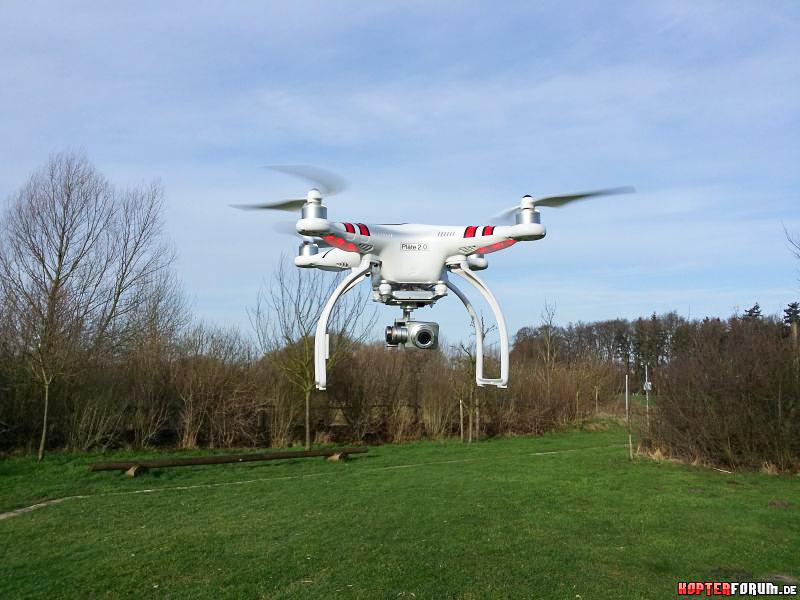Die Welt von oben. Ein Quadkopter macht es möglich