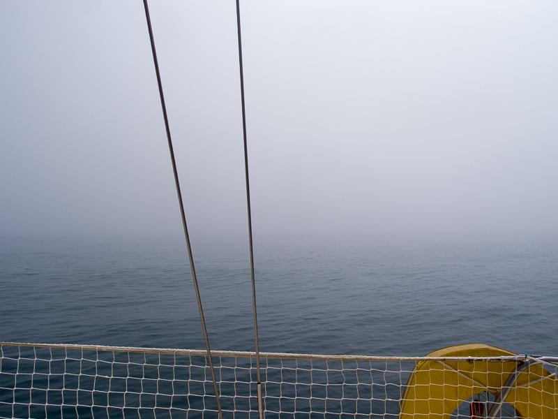 Nebel: nicht im englischen Kanal, nein an der Algarve