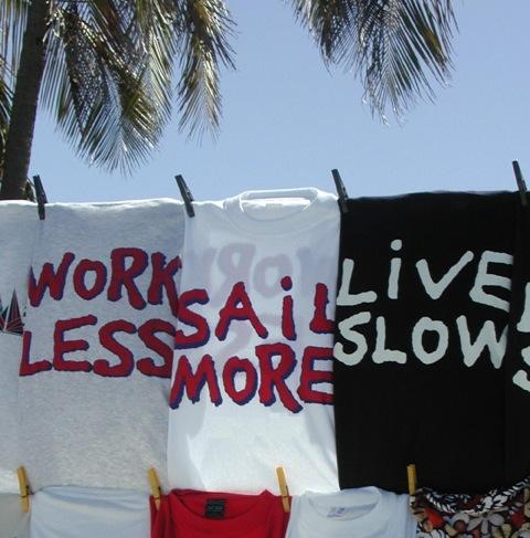 Mitsegeln Karibik: work less sail more