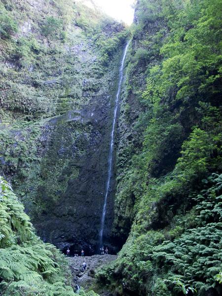 Caldeirao Verde: der krönende Abschluss mit Wasserfall