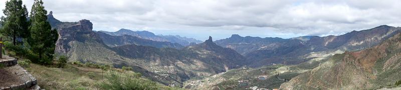 Das Schönste zuerst: Panorama in den Bergen
