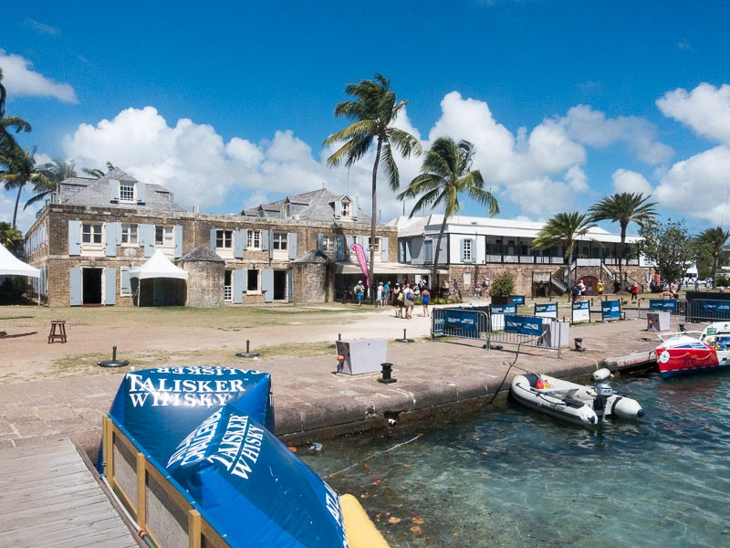Antigua: Nelson Harbour-very british