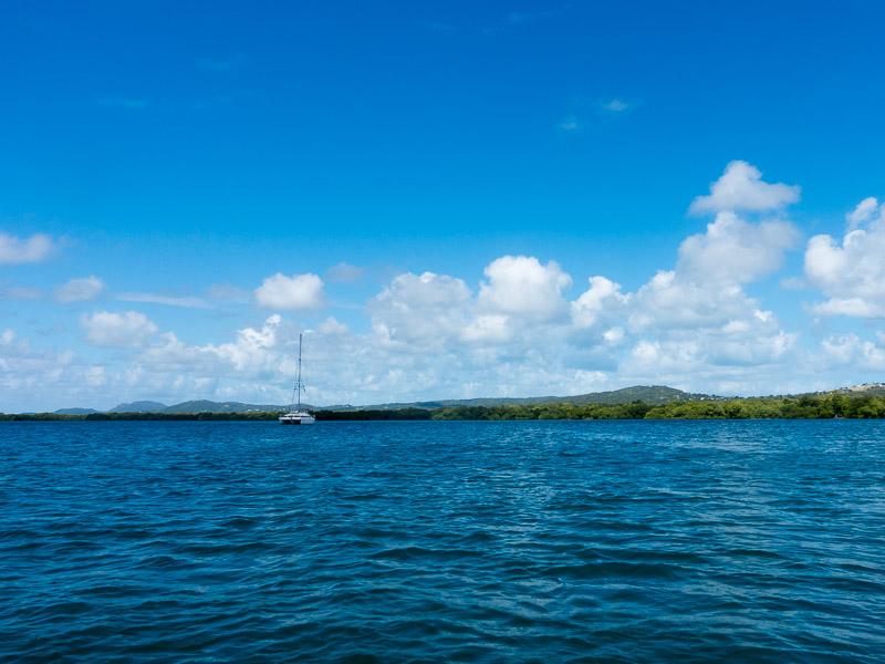 Puerto Ferro: und wieder fast alleine in der Bucht