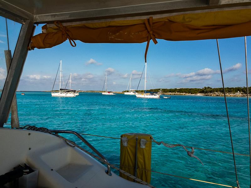 Auf in die Exumas: Allen Cay