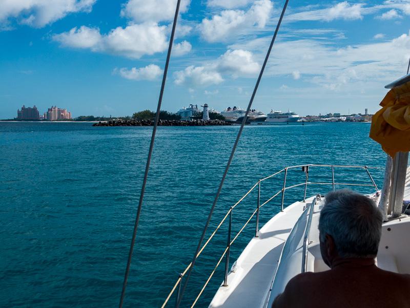 Auf in die Exumas: Zwischenstopp Nassau