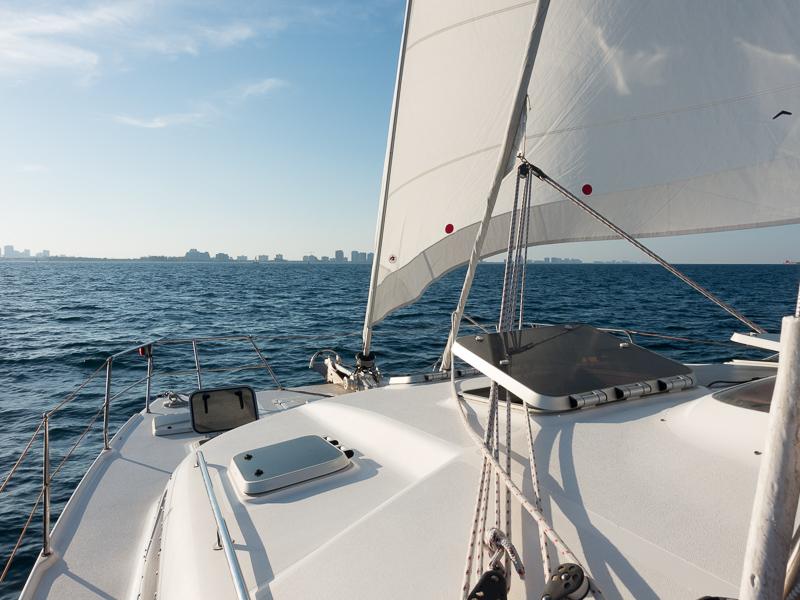 Fort Lauderdale in Sicht