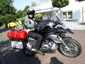 Mit dem Moped durch Skandivavien