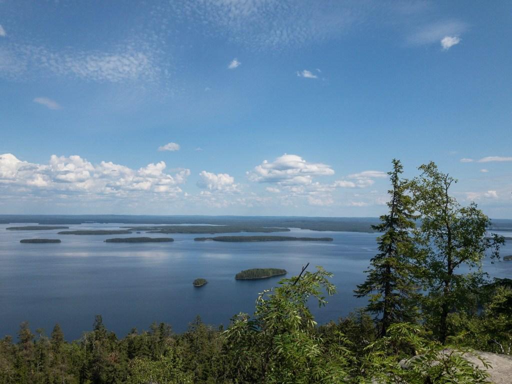 Koli Nationlpark: Finnische Seen weit und breit