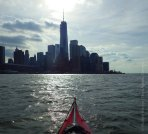 ... and paddle south down the Hudson