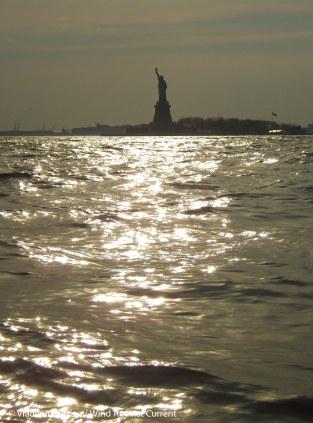 Sparkling silhouette