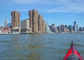 Approaching Midtown Manhattan