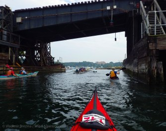 Day 1: We paddle up to the start of the Blackburn Challenge