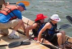 Cardboard Kayak Race 15