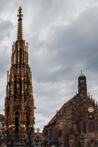 Nuremberg City Fountain