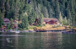 Malibu Lodge overlooking Malibu Rapids