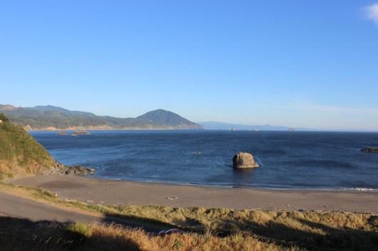 The scenic drive along the Coast of Oregon