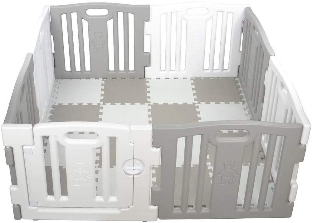 parc bebe xl 8 pieces play twin avec tapis puzzle 16 pieces star ibaby 6m acheter maintenant en ligne bebitus fr