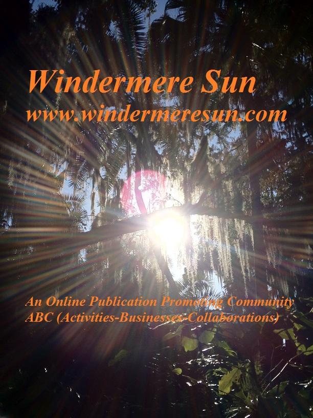 Windermere Sun, www.WindermereSun.com (credit: Susan Sun Nunamaker, Founder, Editor-In-Chief, and photographer of Windermere Sun)