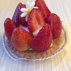 My French Cafe-Strawberry tart