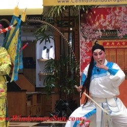 Chinese (Cantonese) Opera-Lunar New Year celebration at Fashion Square Mall of Orlando, FL (credit: Windermere Sun-Susan Sun Nunamaker)