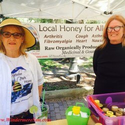 Local Honey at Windermere Farmer's Market (credit: Windermere Sun-Susan Sun Nunamaker)