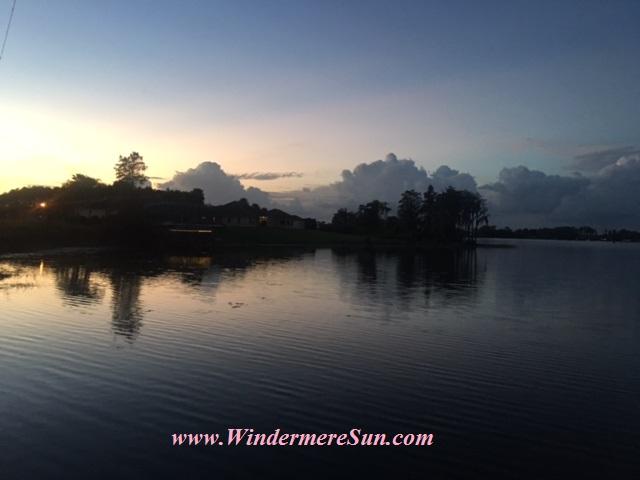 Peaceful evening at a lake in Windermere (credit: Windermere Sun-Susan Sun Nunamaker)