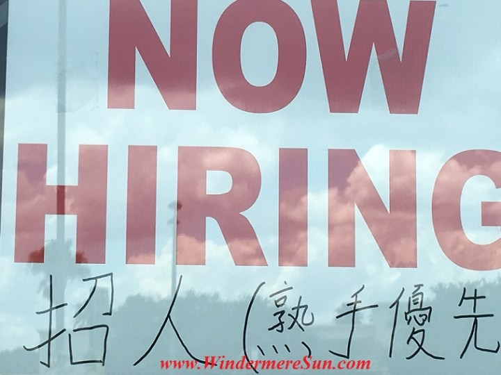 Now Hiring-Mia Supermarket at 2415 E. Colonial Dr., Orlando, FL will soon to open in early June, 2016 (credit: Windermere Sun-Susan Sun Nunamaker)