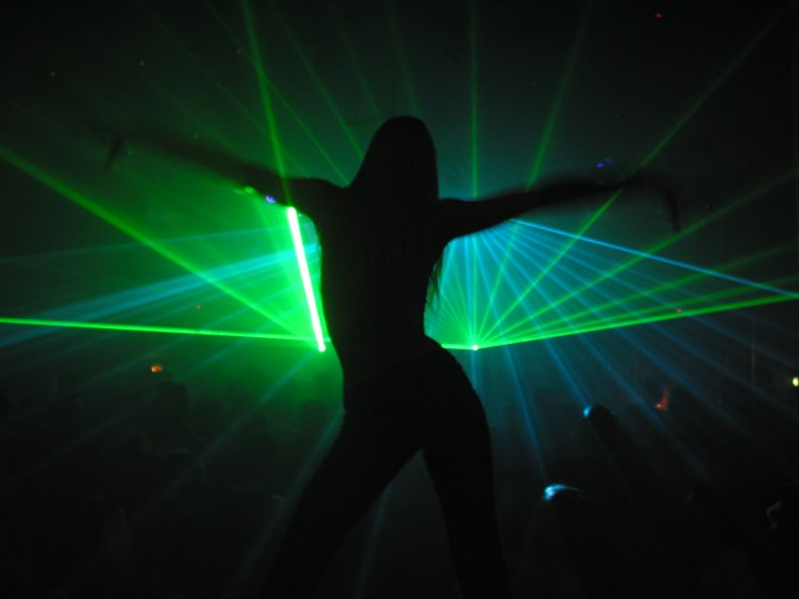 Dance for Laser (photographer: martwork)