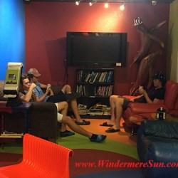 Allen's Creamery & Coffee House interior, relaxing corner, 523 Main Sstreet, Windermere, FL (credit: Windermere Sun-Susan Sun Nunamaker)