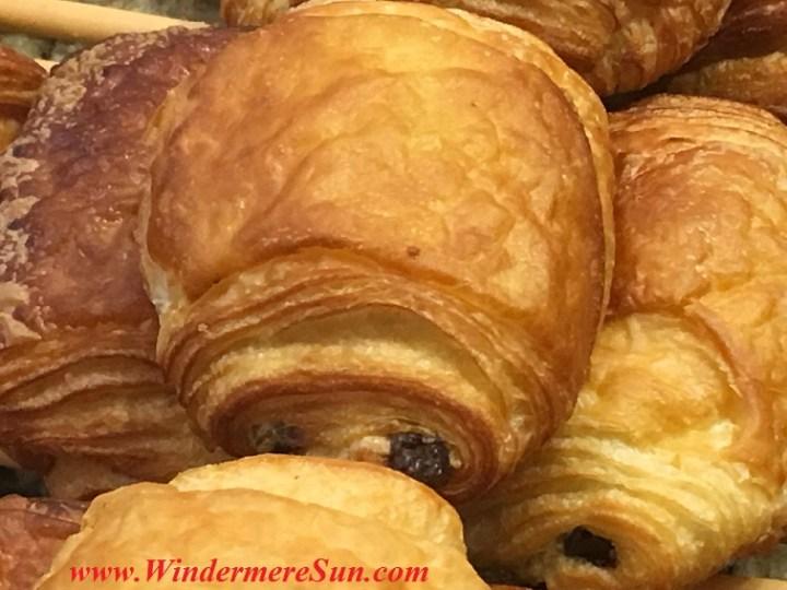 Chocolate Croissants of My French Cafe (credit: Windermere Sun-Susan Sun Nunamaker)