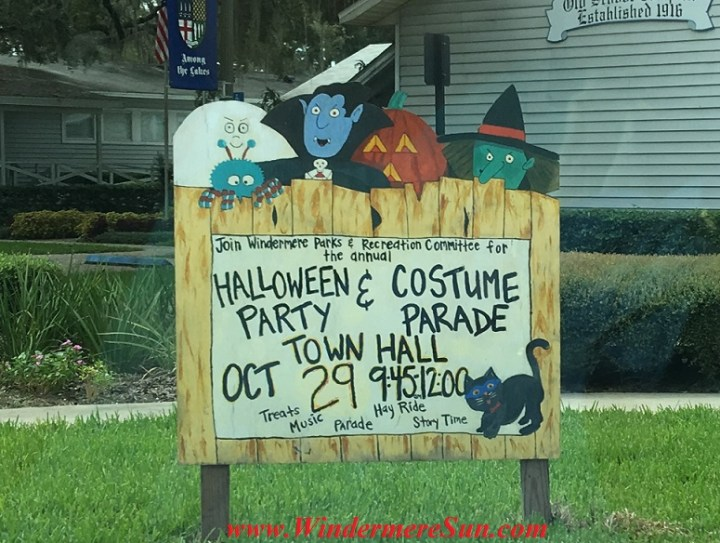 Halloween Costume Party at Windermere Town Hall (credit: Windermere Sun-Susan Sun Nunamaker)