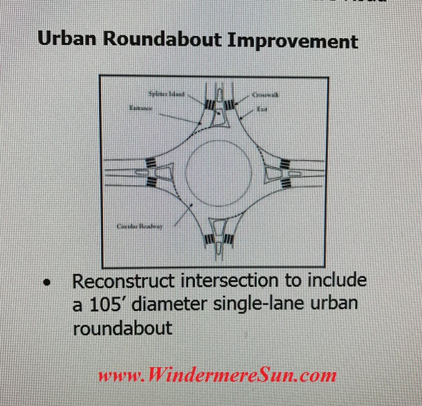 Urban Roundabout Improvement (credit: Orange County)