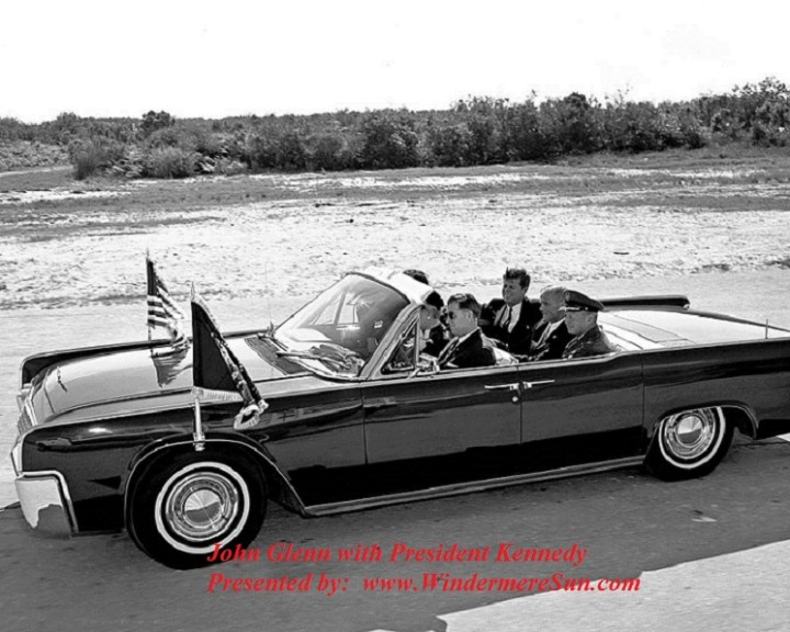 John Glenn with President Kennedy final