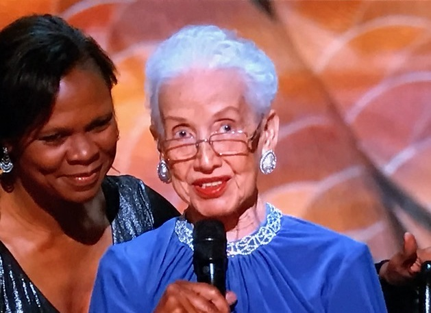 Katherine Johnson, the real one behind Hidden Figures final