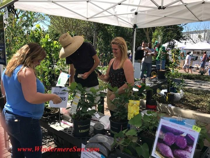 A Natural Farm-Luc and Sonia at a natural farm booth final