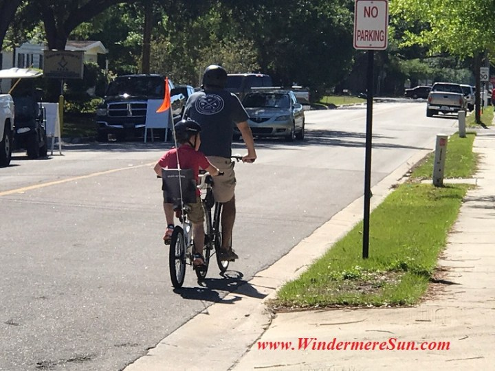 Biking with papa and son final