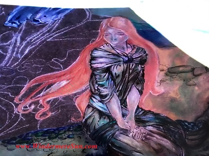 lady with red hair art work final