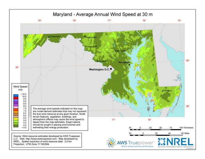 Prevailing Wind Direction Map Indiana Wind - Us average wind speed map