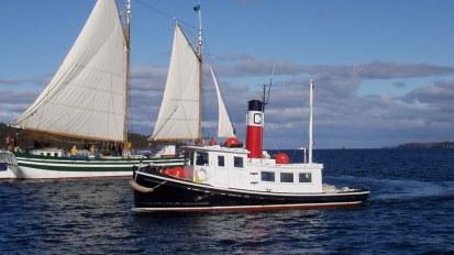 Tug Boat Restoration – C.L. Churchill