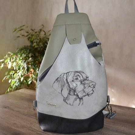 Weimaraner Sling Bag